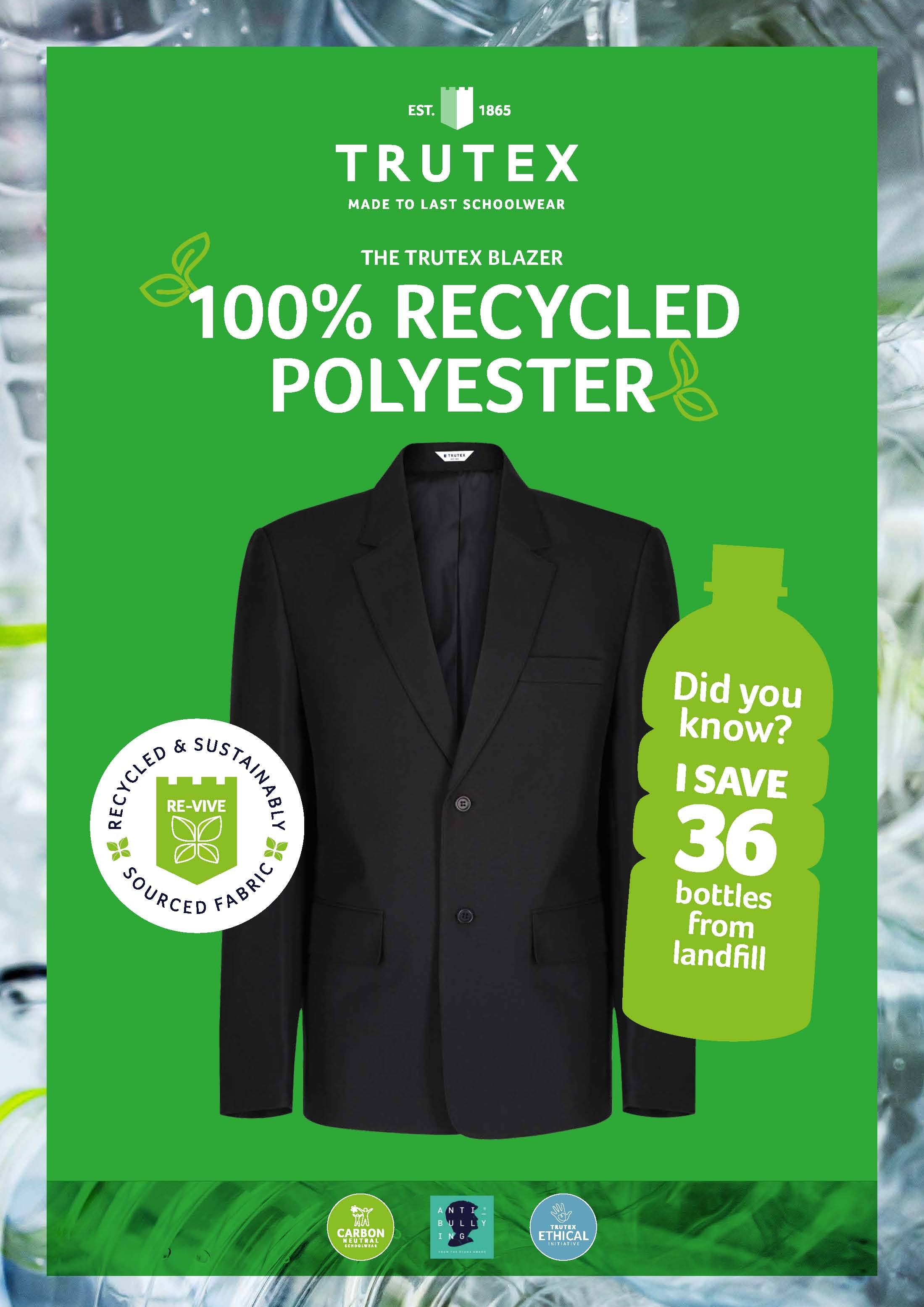 We're so proud to be doing our bit for the environment
