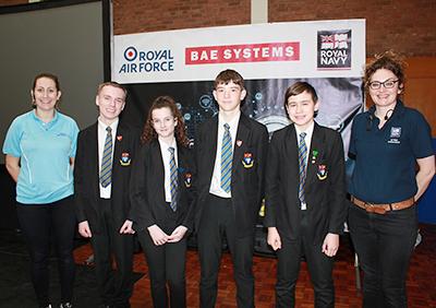 BAE Systems Roadshow visits Eckington School