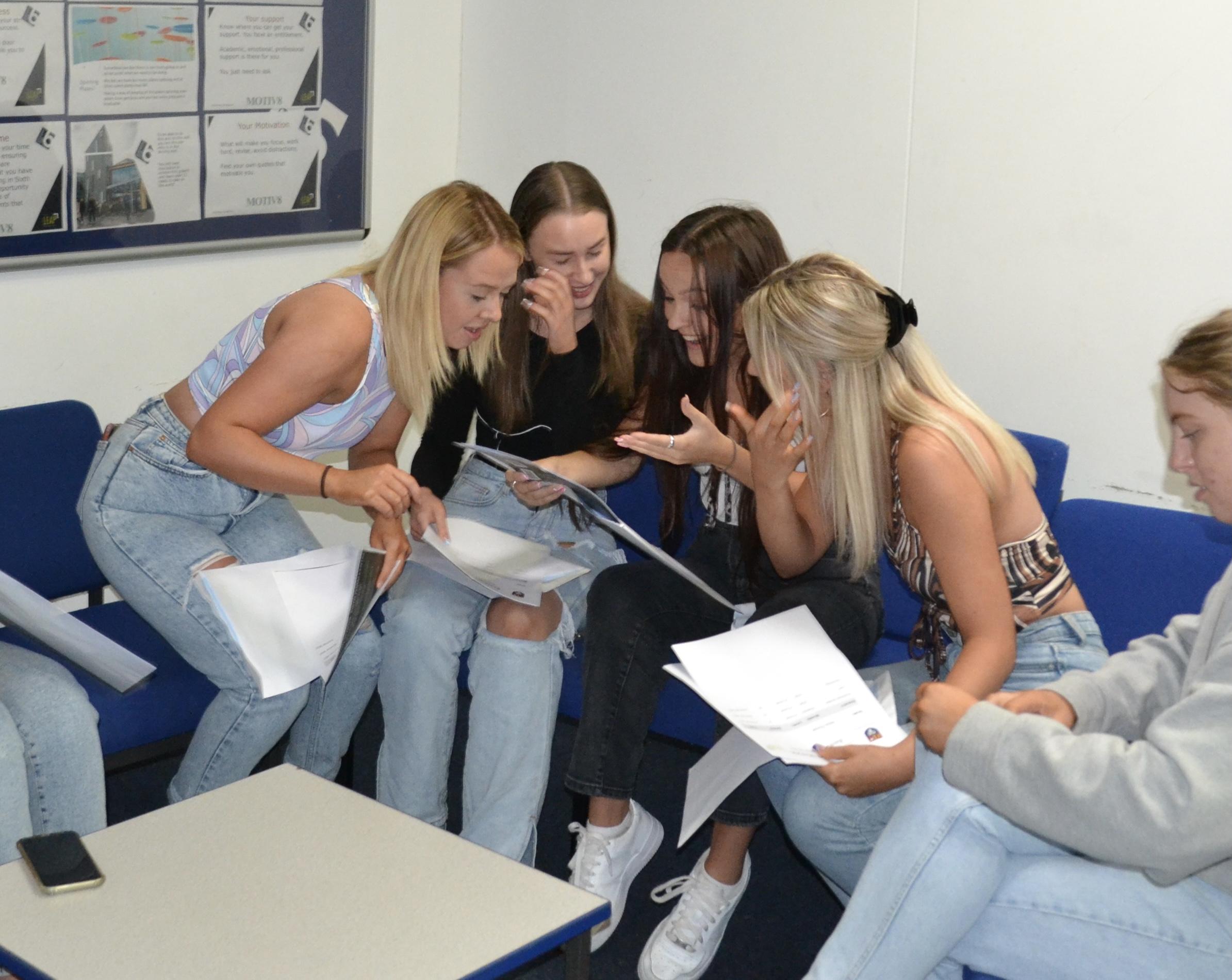 GCSE and A-Level Results Celebration